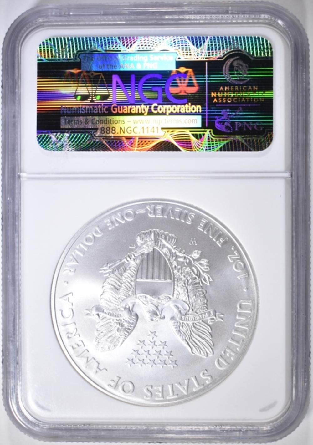 Lot 65: 2008-W ASE NGC MS-70