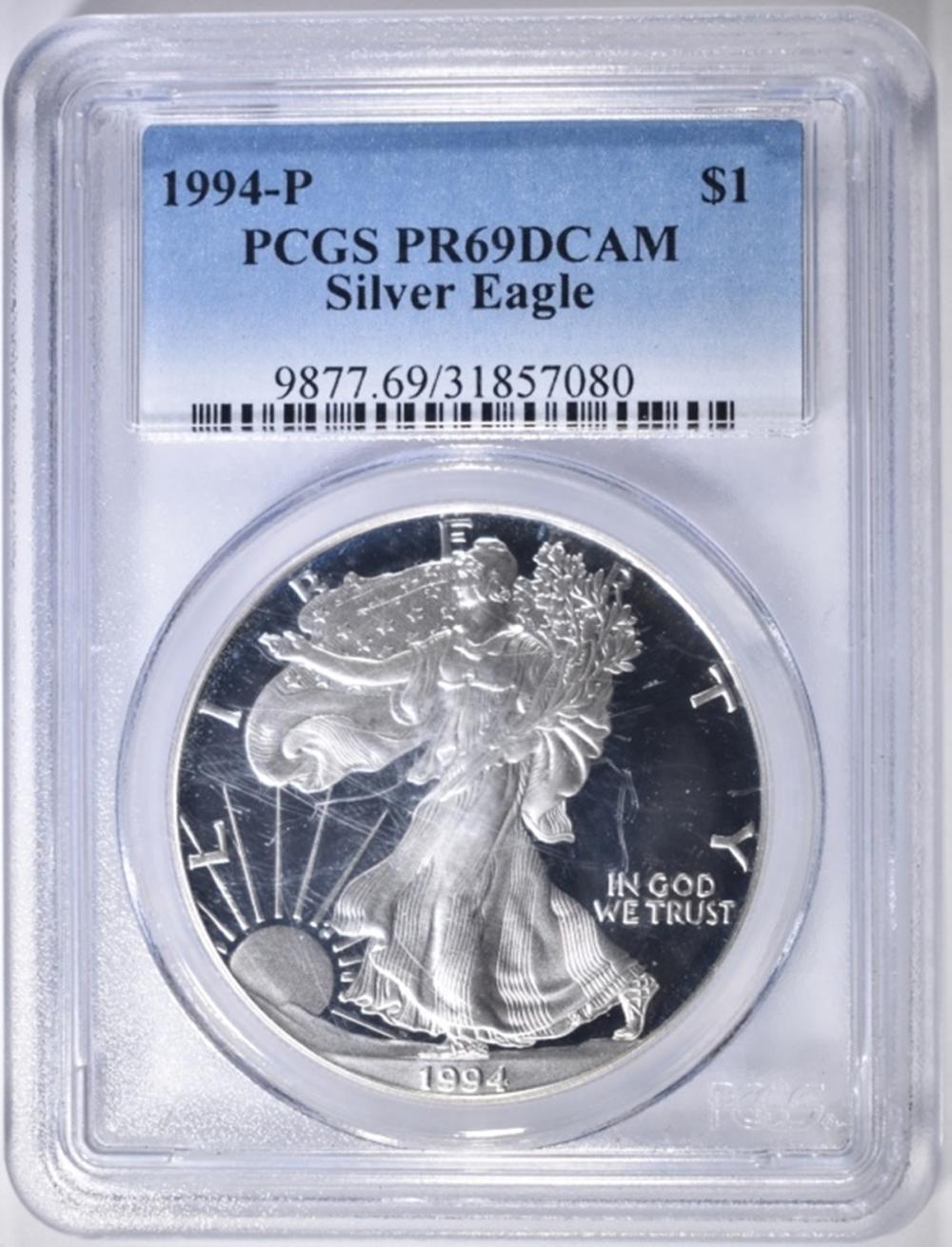 1994-P ASE PCGS PR-69 DCAM