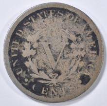 Lot 69: 1886 LIBERTY NICKEL GOOD DARK