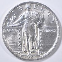 Lot 71: 1923 STANDING LIBERTY QUARTER CH BU