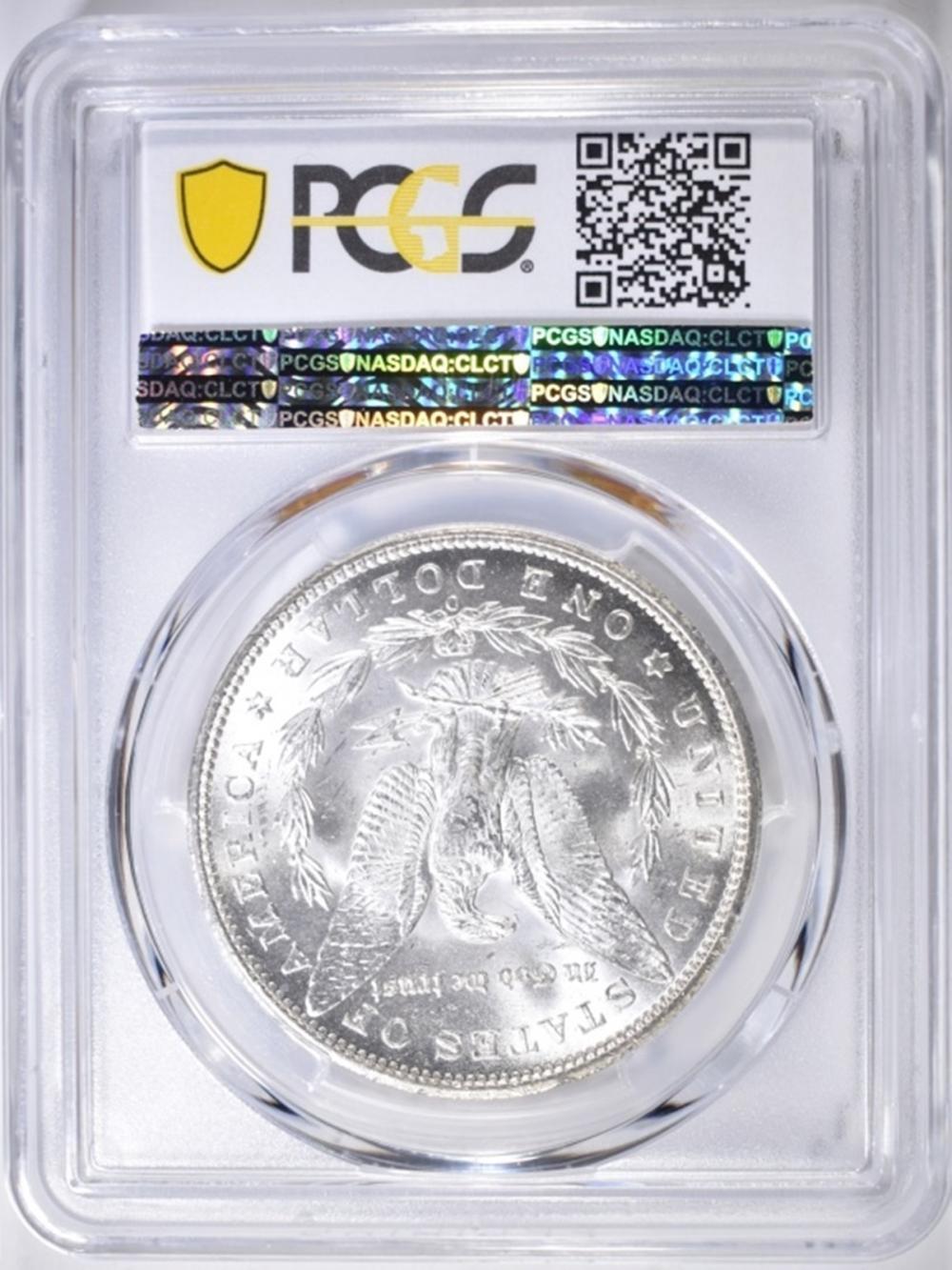 Lot 115: 1899-O MORGAN DOLLAR PCGS MS-64
