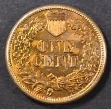 Lot 126: 1861 INDIAN HEAD CENT GEM BU