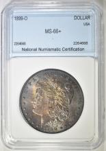 Lot 130: 1899-O MORGAN DOLLAR NNC SUPERB GEM +