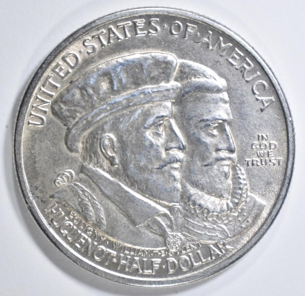 1924 HUGUENOT COMMEM HALF DOLLAR  BU