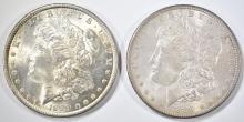 Lot 162: 2-1889 CH BU MORGAN DOLLARS