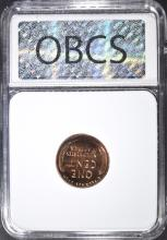 Lot 169: 1953 LINCOLN CENT, OBCS SUPERB GEM PR RED
