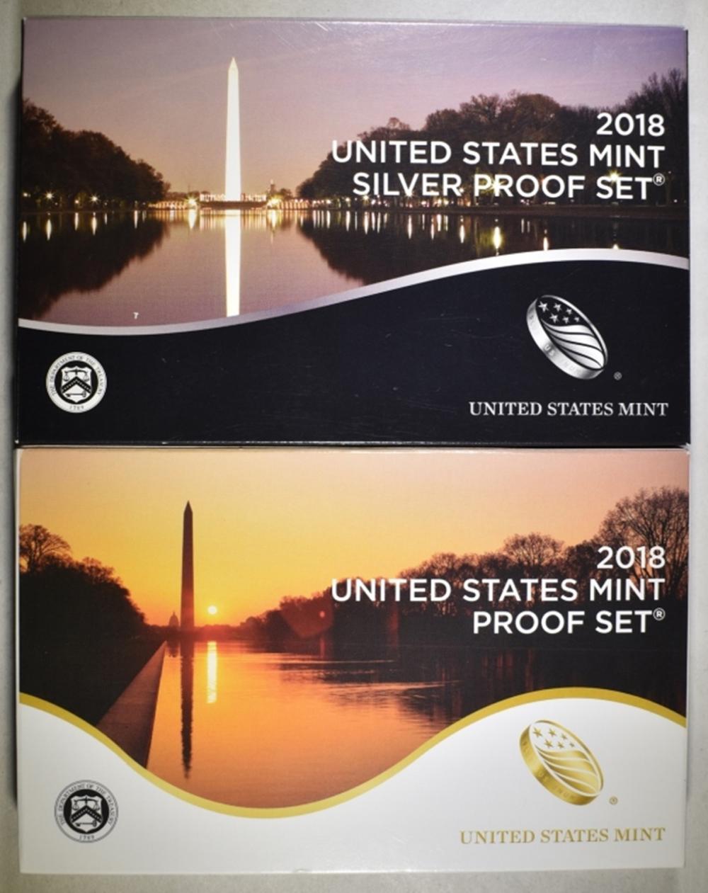 2018 CLAD & SILVER U.S. PROOF SETS