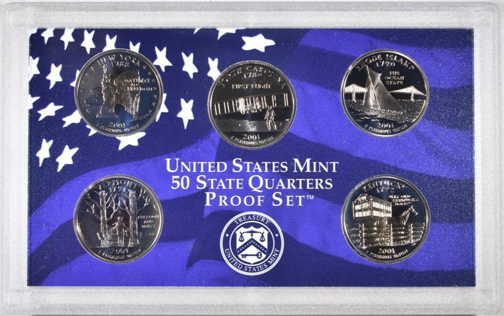 Lot 196: U.S. PROOF SET LOT: ORIG PACKAGING