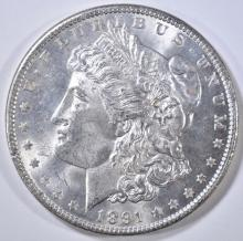 Lot 214: 1891 MORGAN DOLLAR CH BU