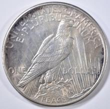 Lot 217: 1921 PEACE DOLLAR BU