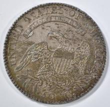 Lot 249: 1813 BUST HALF DOLLAR 50/UNI AU/BU LUSTER