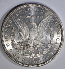 Lot 268: 1887-S MORGAN DOLLAR, CH BU