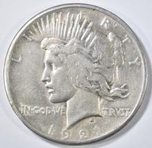Lot 272: 1921 PEACE DOLLAR XF