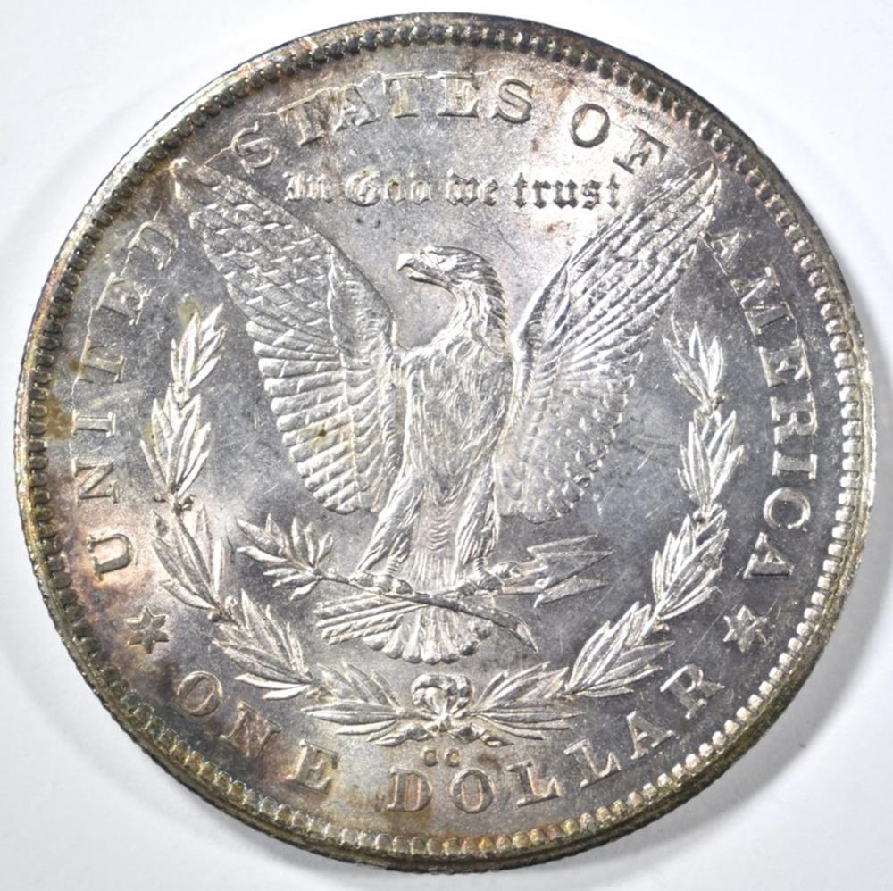 Lot 269: 1878-CC MORGAN DOLLAR BU