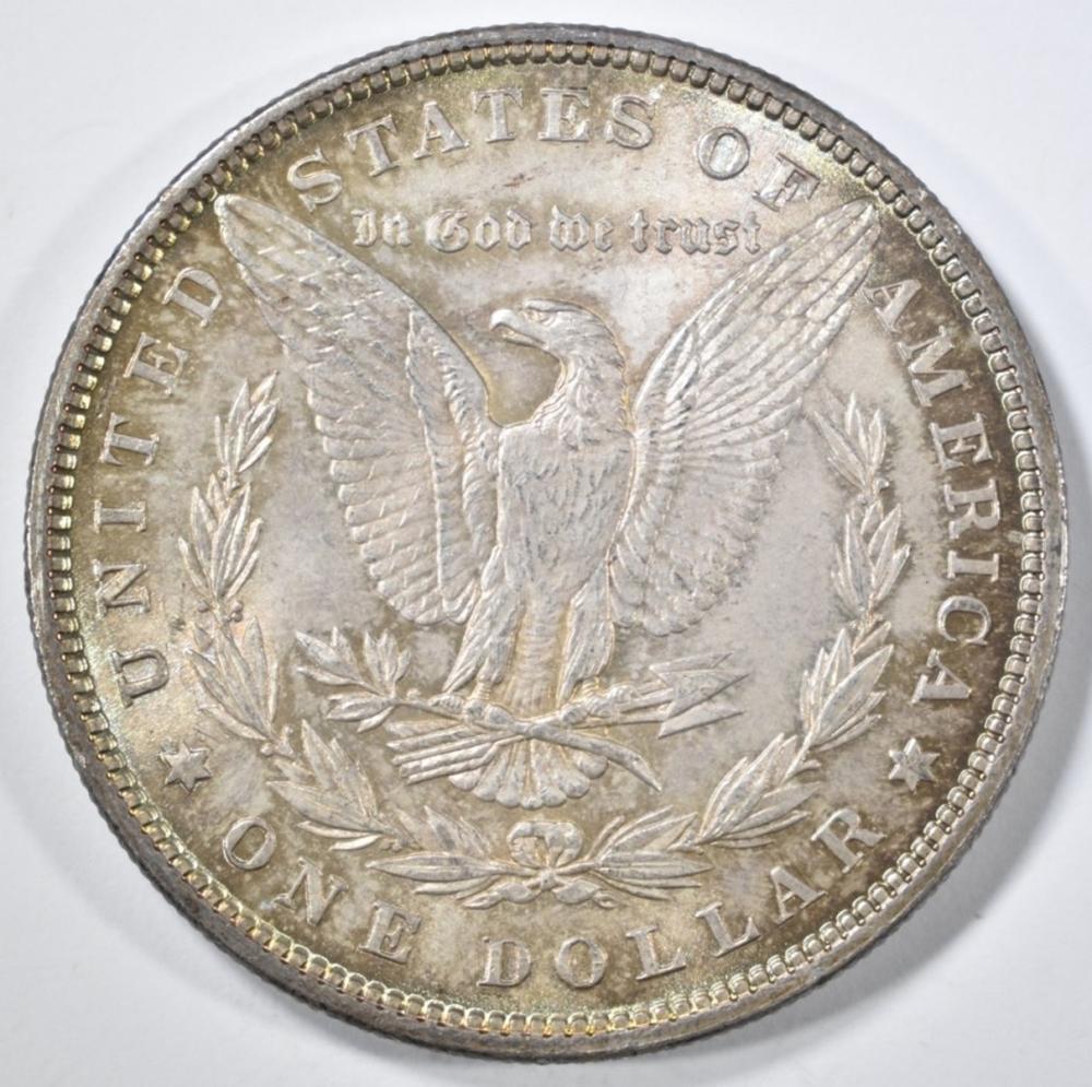 Lot 266: 1879 MORGAN DOLLAR CH BU GREAT COLOR