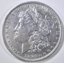 Lot 280: 1891-O MORGAN DOLLAR AU/BU
