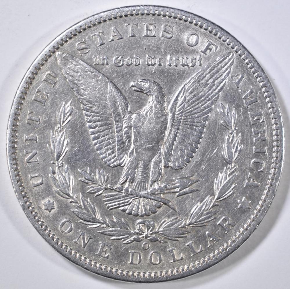Lot 281: 1896-O MORGAN DOLLAR AU