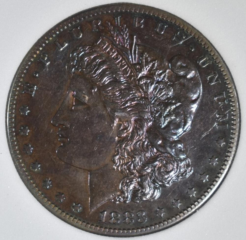 Lot 336: 1883-S MORGAN DOLLAR, AGP BU
