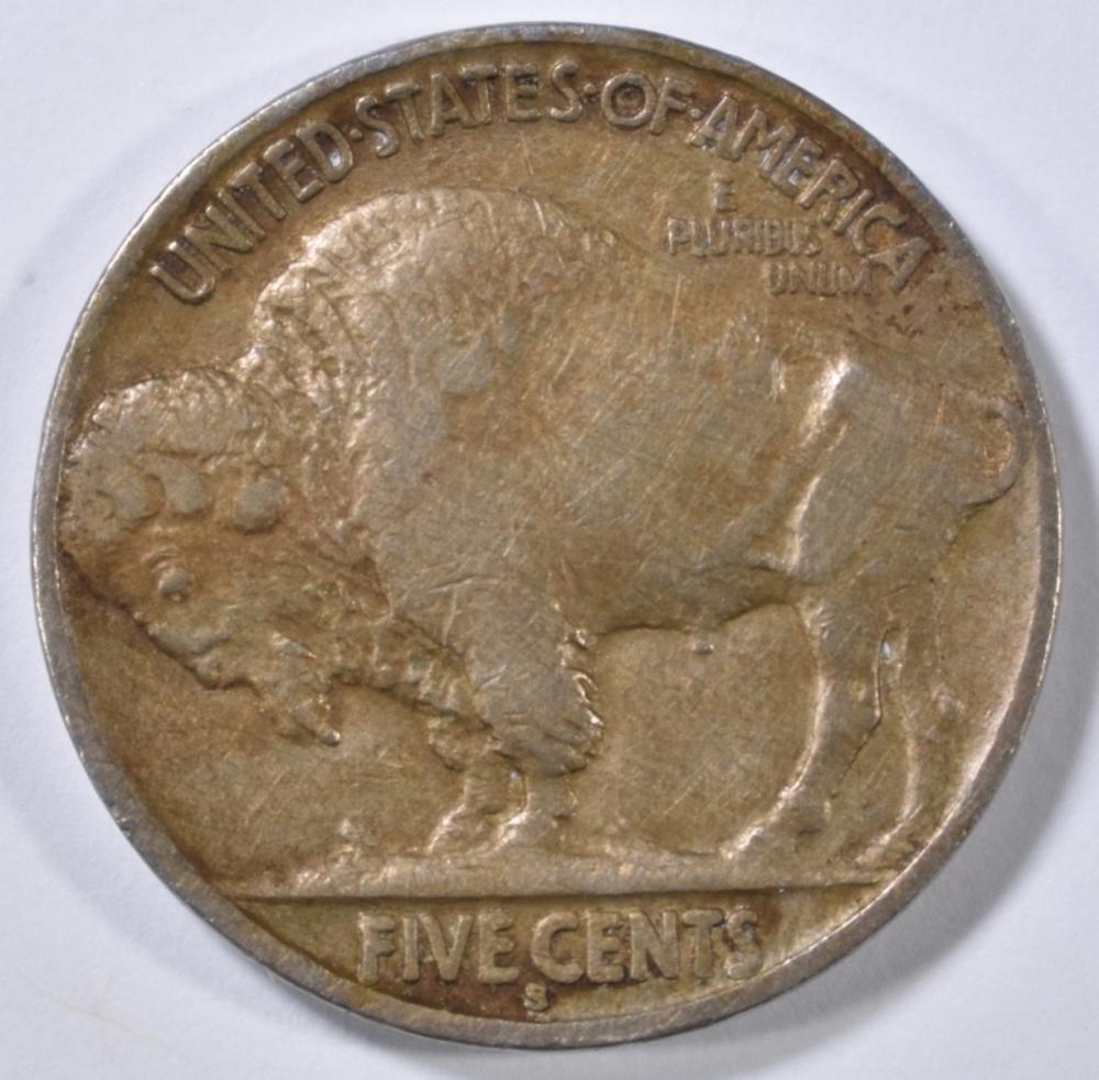 Lot 391: 1915-S BUFFALO NICKEL XF
