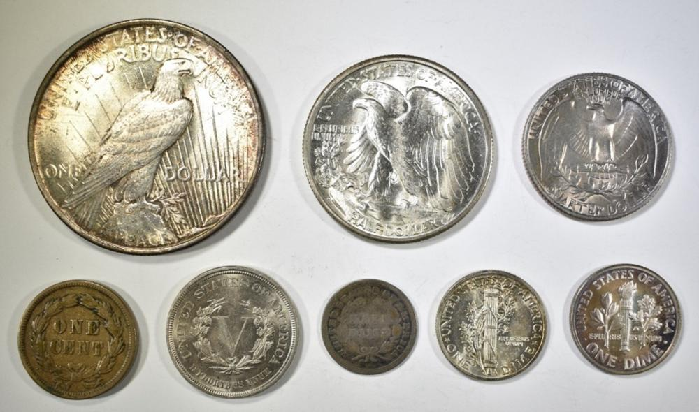 Lot 403: MIXED TYPE COLLECTION
