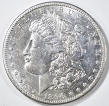 Lot 428: 1896-S MORGAN DOLLAR CH AU