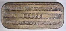 Lot 458: FIVE OUNCE POURED .999 SILVER BAR-SILVERTOWNE