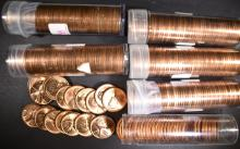 Lot 471: BU LINCOLN CENT ROLL LOT:
