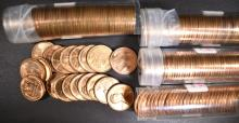 Lot 469: BU LINCOLN CENT ROLL LOT: