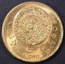 Lot 496: 1959 MEXICO 20 PESO GOLD