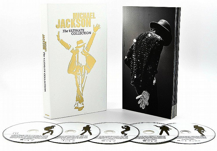 Michael Jackson Ultimate Collection: MICHAEL JACKSON THE ULTIMATE COLLECTION WHITE BOX SET