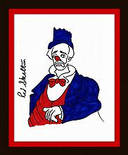 Red Skelton Paintings & Artwork for Sale | Red Skelton Art Value