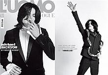MICHAEL JACKSON L'UMO THE LAST PHOTO SHOOT MAGAZINE.