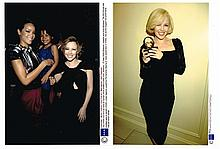 COLLECTION OF OVER 100 PROFESSIONAL PHOTOGRAPHS OF KYLIE MINOGUE