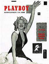 MARILYN MONROE PLAYBOY DECEMBER 1953 MAGAZINE REPRINT.