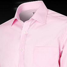 DEAN MARTIN'S OWNED AND WORN 1970'S PINK EDWARD FOX SHIRT