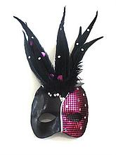 CHER WORN MARDI GRAS STAGE MASK