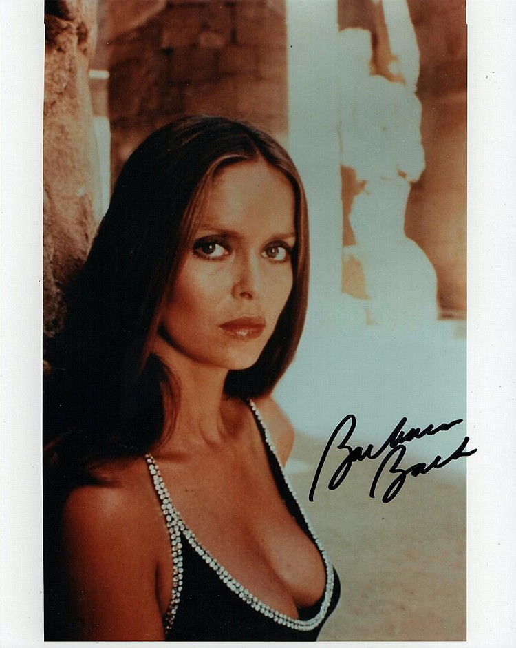 Barbara Bach Signed Photo