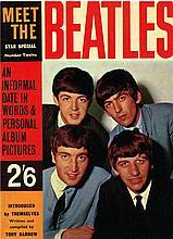 MEET THE BEATLES 1963 MAGAZINE.