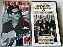 ROY ORBISON - 2 LIVE CONCERTS VHS.
