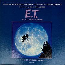 RARE BANNED E.T. 2 LP MICHAEL JACKSON MCA 7000 SET