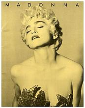 MADONNA WHO'S THAT GIRL TOUR PROGRAMME.