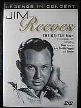 JIM REEVES THE GENTLE MAN DVD.