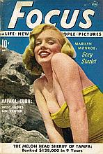 MARILYN MONROE DECEMBER 1951 FOCUS MAGAZINE.