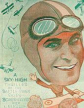 HOWARD HUGHES -' COCK OF THE AIR' PROMOTIONAL BOOKLET