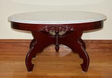 Victorian style Marble-Topped Table