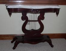 Victorian style Marble Top Table