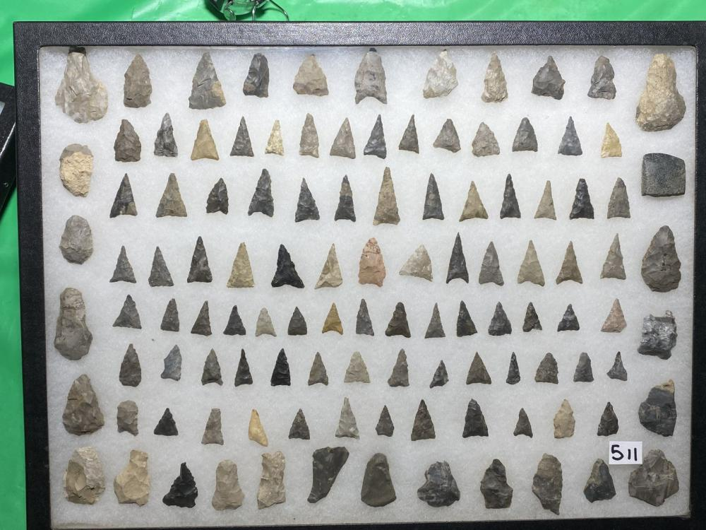 LOT OF 100+ NATIVE AMERICAN PROJECTILES / POINTS