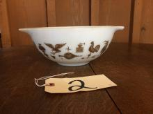 EARLY AMERICAN 1 PC PYREX MIXING BOWL