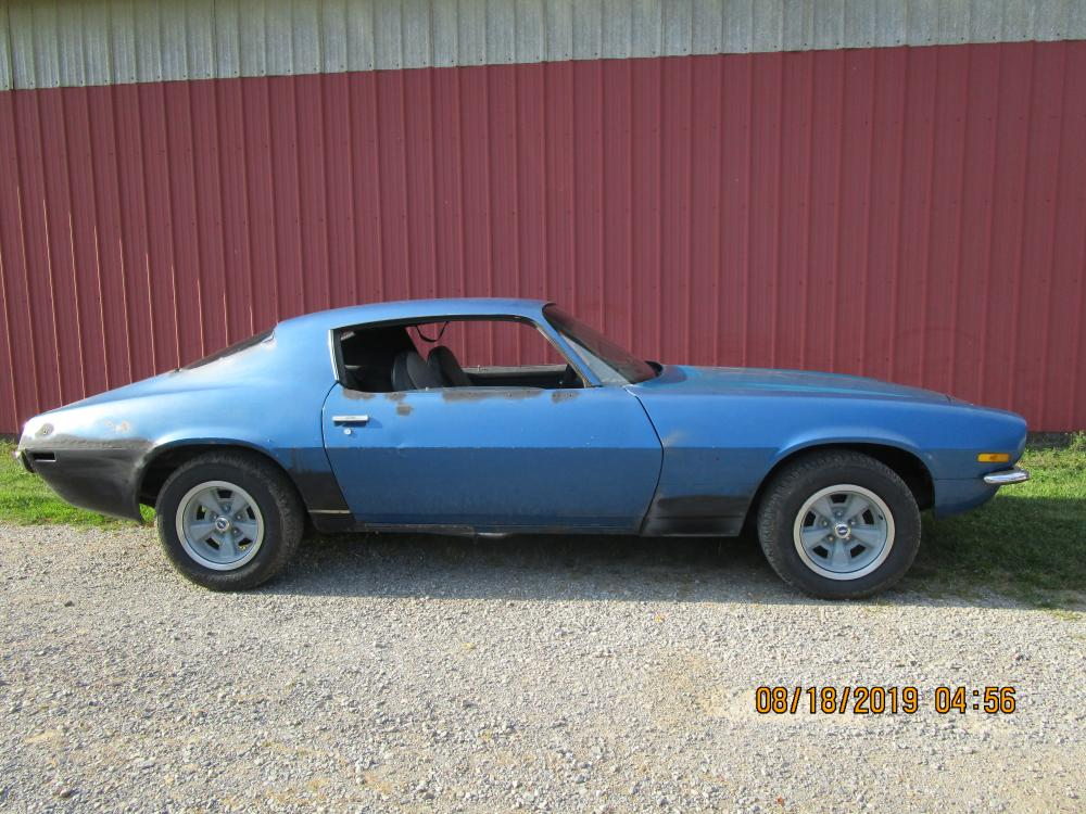 1973 CHEVROLET CAMARO Z28 COUPE - MATCHING NUMBERS