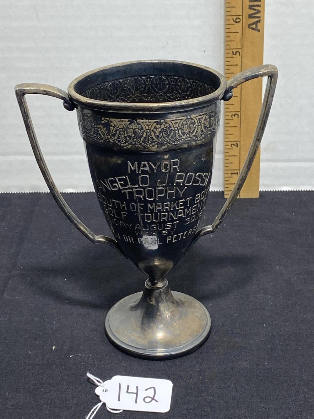 VINTAGE 1931 GOLF TROPHY - RARE